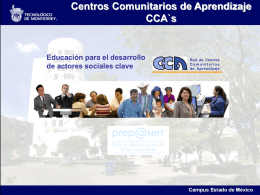 CCA San Francisco Tepeolulco - Centro Virtual de Aprendizaje
