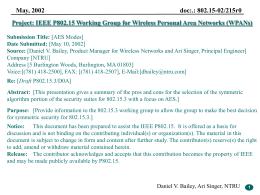 02215r0P802-15_TG3-AES-Modes - IEEE-SA