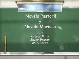 NOVELA PASTORIL Y MORISCA ALUMNOS