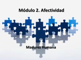 Módulo 2. Afectividad
