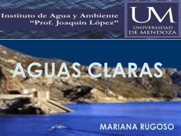 Aguas claras - Dra. Mariana Rugosso