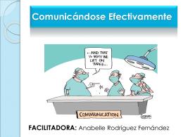 Comunicandose Efectivamente