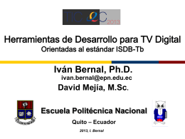Ponencia 6 - TIC.EC 2015