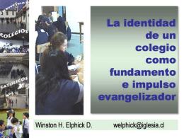 Pedagogía Católica: Visible e Invisible.
