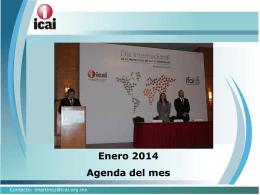 Enero 2014 Agenda del mes - RESI - Registro Estatal de Solicitudes