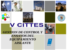 gestion de control y ensayos del equipamiento aislante (003).