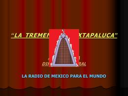 """""""LA TREMENDA DE IXTAPALUCA"""""""