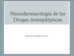 Neuropharmacology - American Epilepsy Society