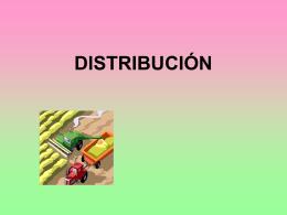 DISTRIBUCIÓN - Web del Profesor