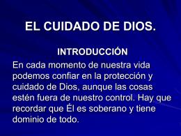 EL CUIDADO DE DIOS. - Iglesia Vida con Proposito