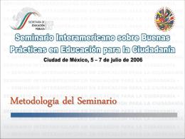 Presentación de PowerPoint - Educación en Valores y Prácticas