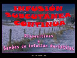 dispositivos y bombas de infusión portátiles i