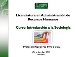 Sesion 2 - Introsociologia