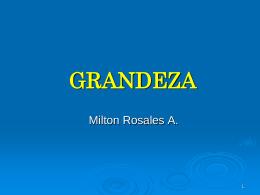 GRANDEZA - Canacodea