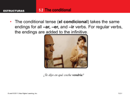 5.2 The conditional - Plain Local Schools