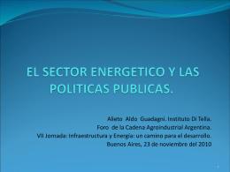 presente y futuro del petroleo y el gas en argentina