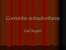 Corrientes antiautoritarias rogers