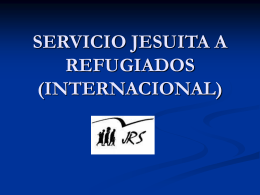 servicio jesuita a refugiados (internacional)