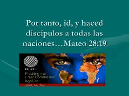 La Iglesia y las misiones
