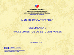 Manual De Carreteras - Asociación de Ingenieros Consultores