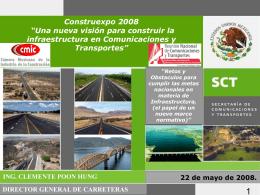 PROGRAMA NACIONAL DE INFRAESTRUCTURA 2007-2012