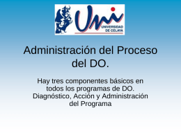 5 DIAGNOSTICO ACCION Y ADMON DEL PROGRAMA