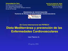 Inauguración Dr. Iván Palomo - PIFRECV
