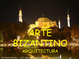 Arte Bizantino. Arquitectura