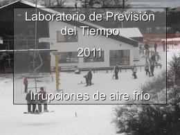 Heladas - Laboratorio de prevision del tiempo