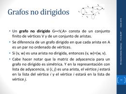 Grafos No Dirigidos - Beatriz Beltrán Martínez