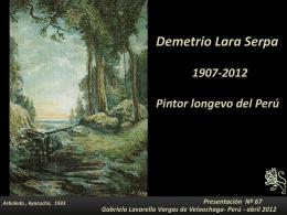 Demetrio Lara Serpa - Holismo Planetario en la Web