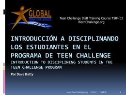 Auto-disciplina - iTeenChallenge.org