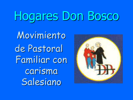 Hogares Don Bosco - Salesianos Aranjuez