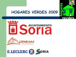 HOGARES VERDES 2008