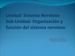 ppt 6 Sistema Nervioso