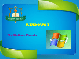 Qué es Windows 7? - computacion
