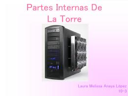 Partes Internas De La Torre…Laura Melissa