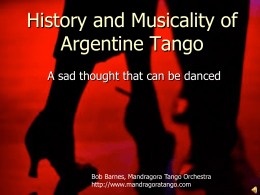 Antecedent - Mandrágora Tango