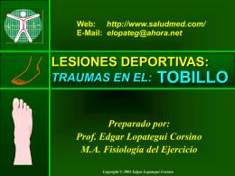 Lesiones en el Tobillo