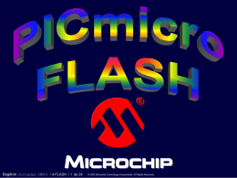 PICmicro FLASH - digsys.upc.edu