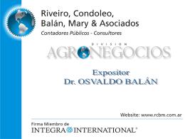 Valuación de inventarios agropecuarios