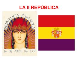 la ii república