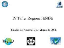 Guatemala : ENDE