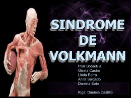 síndrome de Volkmann