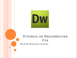 Tutorial de Dreamweaver Cs4