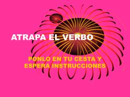 ATRAPA EL VERBO
