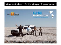 el viaje - Che Toba