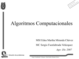 6. Metodología para la solución de problemas
