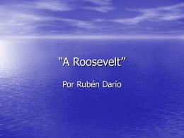 """""""A Roosevelt"""" - Horace Mann Webmail"""