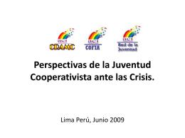 Perspectivas de la Juventud Cooperativista ante las Crisis
